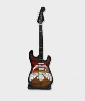 Guitare Électrique miniature Metallica 02