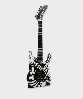 Guitare Miniature  George Lynch Skull