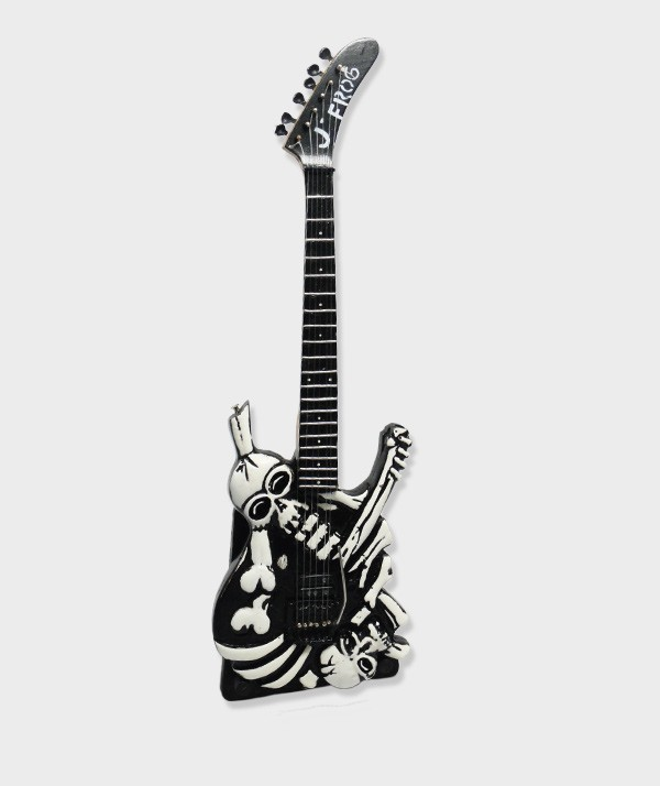 Guitare Miniature  George Lynch Skull