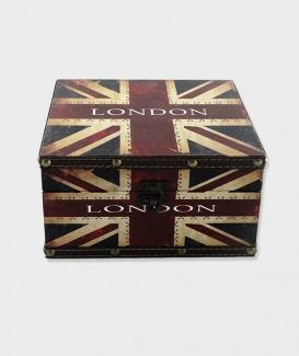 Coffre de Rangement Union Jack Drapeau d'Angleterre