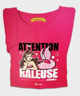 "T-SHIRT Femme ""Attention râleuse"" 02"