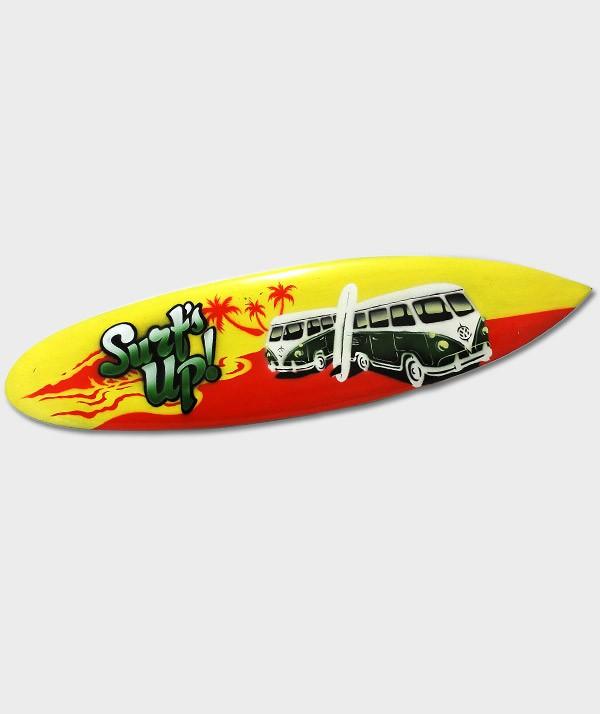 Planche de surf  déco Combi Surfs'up rouge/jaune