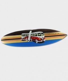 Planche de Surf Double Combi trois couleurs Déco