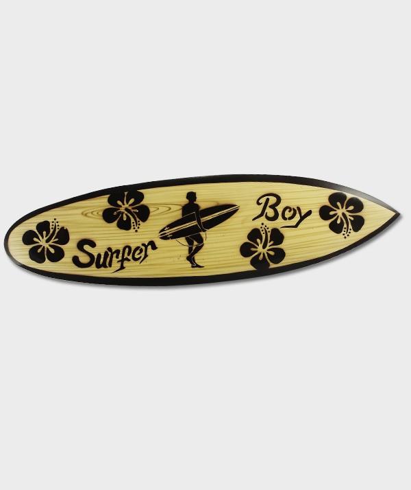 Planche de Surf  boy Hibiscus Déco