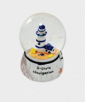 Cadeau idéal de boule à neige lacanau