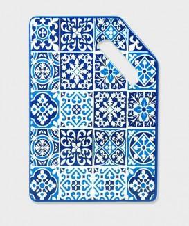 Repose Plat bleu