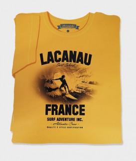 """T-SHIRT """"Lacanau Surf School"""""""