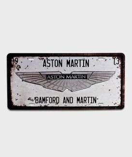 plaque Aston Martin