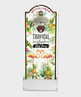 Ouvre bouteille Plateau Mura Tropical