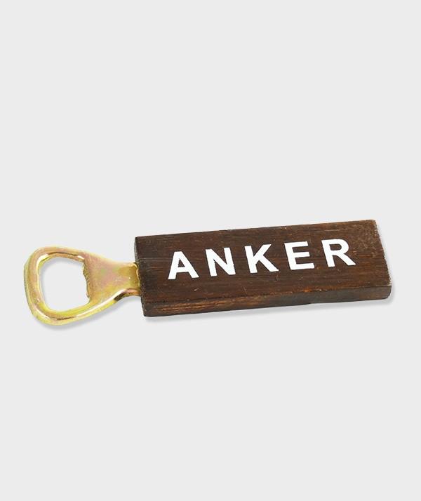 Poignée en bois décapsuleur anker