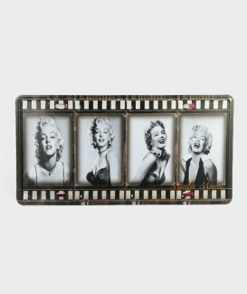 Plaque d'Immatriculation decorative Marilyn Monroe Movie Strip 01