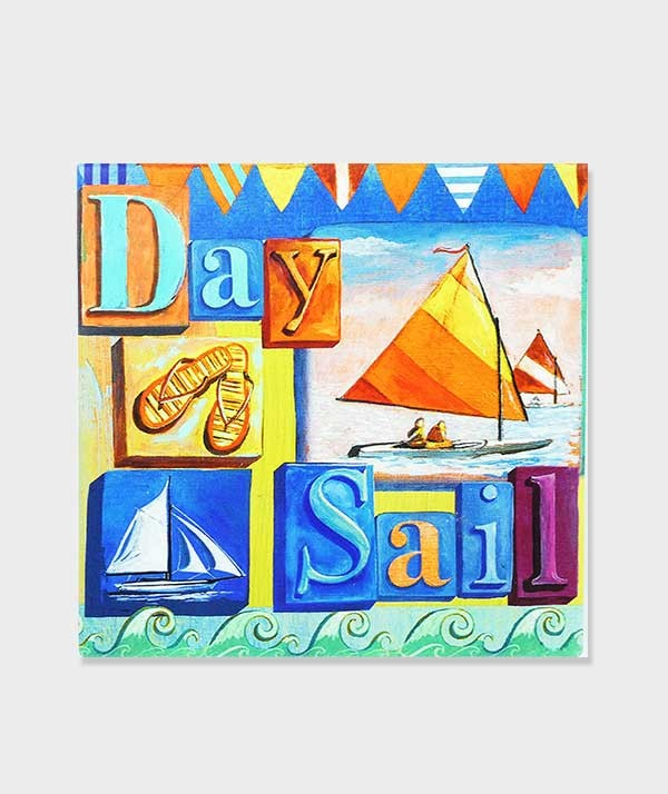 Dessous de Plat ou Repose Plat Carrée  Day Sail