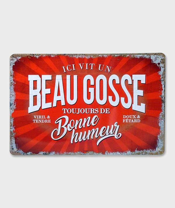 Cadre Métal  Vintage Décorative Beau Gosse