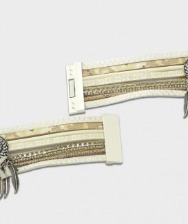 bracelet beige 1