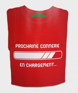 t-shirt connerie en charge