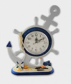 Horloge  penché déco Marine
