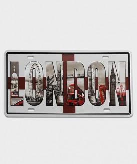 Plaque décorative aux couleurs de Londre