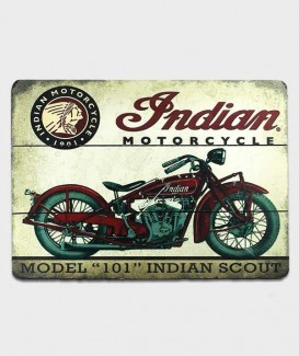 plaque de bois motorcycle
