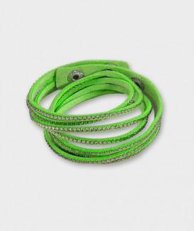 Bracelet Multi-Rangs Cuir...
