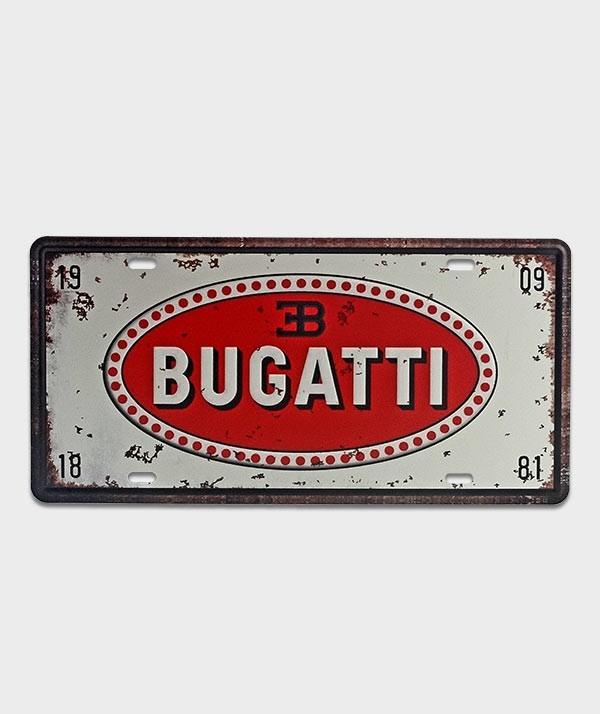 plaque us bugatti