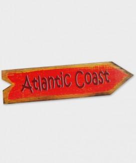 enseigne atlantic coast flèche rouge