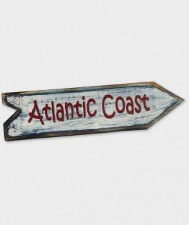 enseigne atlantic coast flèche blanche
