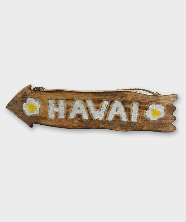 flèche bois marron Hawaï