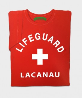 "T-SHIRT ""LIFEGUARD LACANAU"""