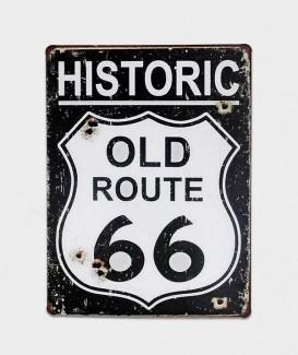 LA route 66 a sa plaque historique à lacanau océan