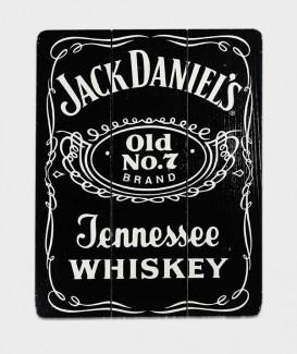 plaque déco Jack Daniel's