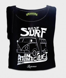 "T-SHIRT ""BEST SURF IN ATLANTIC"""
