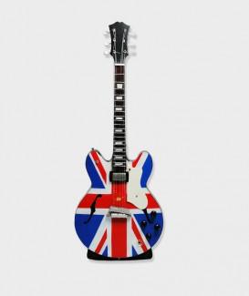 Guitare 1 union jack